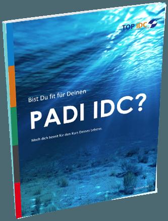 PADI IDC: eBook zur Vorbereitung