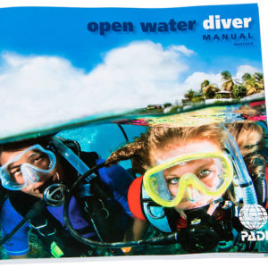 PADI Open Water Diver Manual (OWD)