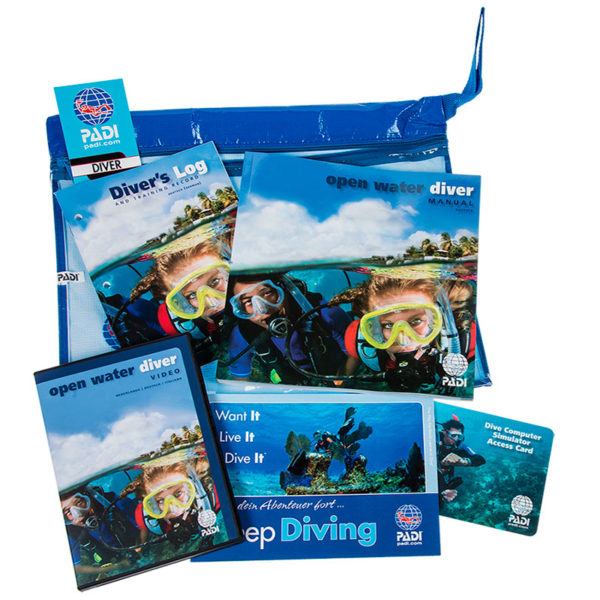 PADI Open Water Diver Ultimate Crewpack