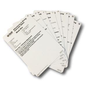 PADI Advanced Open Water Diver Cue Cards