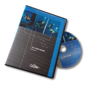 PADI Tec Deep Diver Manual (DVD-ROM)