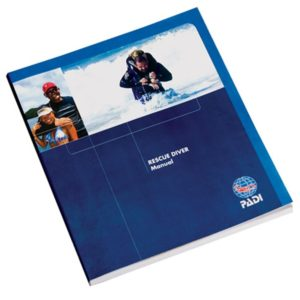 PADI - Manual Rescue Diver with Accident Management Slate German